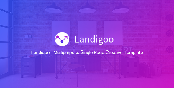 Landigoo – Multipurpose Single Page Creative WP Theme