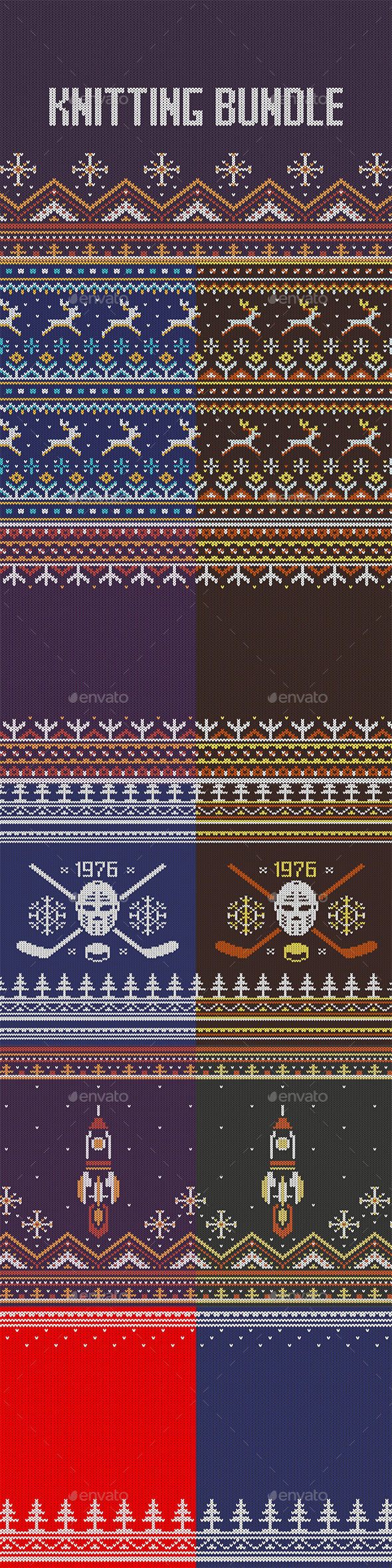Knitting Pack - Patterns Decorative