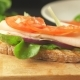 Preparing a Healthy Sandwich - VideoHive Item for Sale