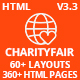 CharityFair - Nonprofit, Crowdfunding & Charity HTML5 Template - ThemeForest Item for Sale