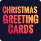Merry Christmas Greeting Card - 06 PSD [02 Size Each - 7x5 & 5x7]