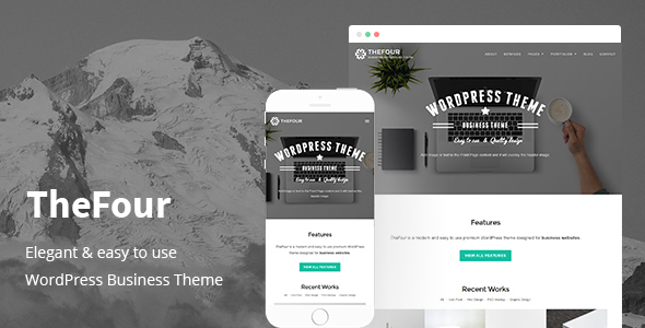 TheFour - WordPress Business Theme - Business Corporate
