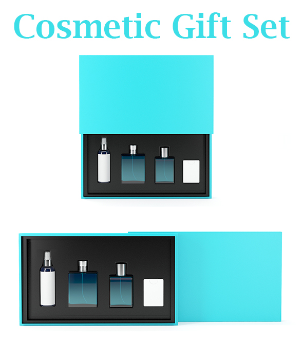 Cosmetic Gift Set - 3DOcean Item for Sale