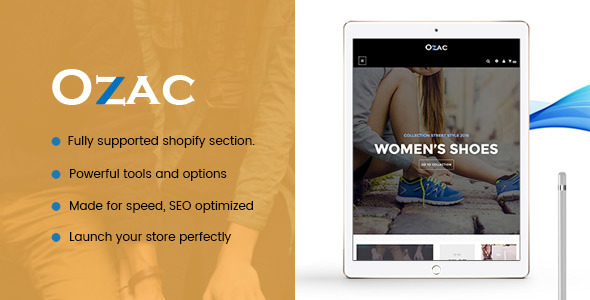 Ap Ozac Drag And Drop Shopify Theme