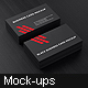 Black Business Card Mockup - GraphicRiver Item for Sale