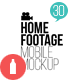 Download Home Footage Mobile Mockup from VideHive