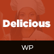 Delicious -  Table Booking / Restaurant WordPress Theme - ThemeForest Item for Sale