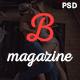 Bmag Mega Blog/Magazine PSD Template