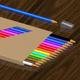Color pencils set - 3DOcean Item for Sale