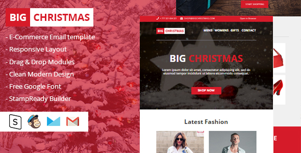 Image of Big Christmas Multipurpose Email Newsletter
