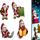 Santa HoHoHo Vector - GraphicRiver Item for Sale