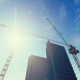 Construction Site With Tower Cranes - VideoHive Item for Sale