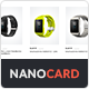 NanoCard - Responsive UI e-commerce Shopping items (cards) - CodeCanyon Item for Sale