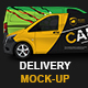 Mercedes Vito Delivery Van Mock-Up - GraphicRiver Item for Sale