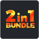 2in1 Powerpoint Bundle - GraphicRiver Item for Sale