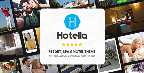 Hotella – Resort & Hotel Booking WordPress Theme