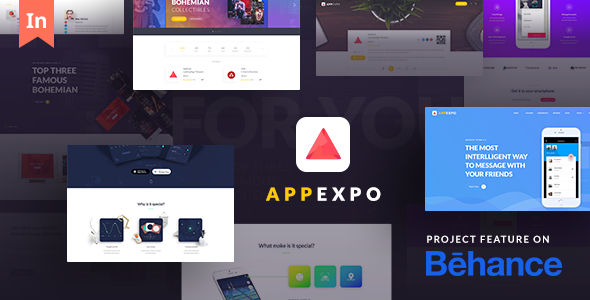 AppExpo – Multipurpose Application WordPress Theme (App Showcase, Appstore)
