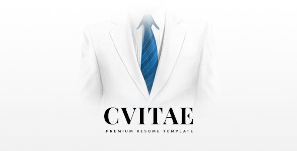 CVitae – Responsive Joomla Resume Template