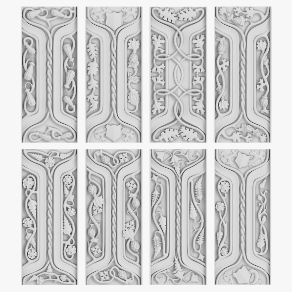 Architectural Ornament vol 05 - 3DOcean Item for Sale