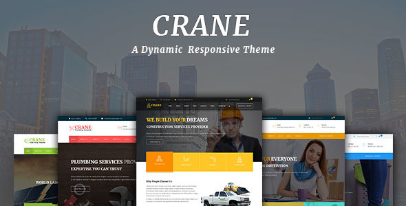 Crane – Multipurpose WordPress Theme