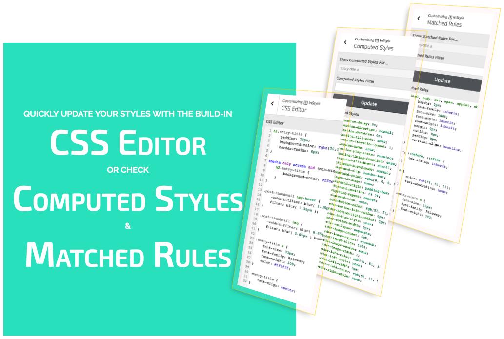 InStyle - WordPress Visual CSS Editor by jepunia | CodeCanyon