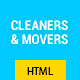 Max Cleaners & Movers - HTML Template Nulled