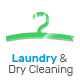 Laundry, Dry Cleaning services HTML website template Nulled