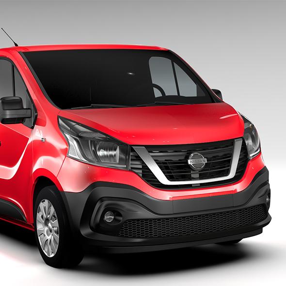 Nissan NV300 Van L2H1 2016 - 3DOcean Item for Sale