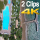 Hotel By The Sea (2 Clips) - VideoHive Item for Sale