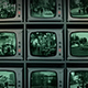 CCTV Wall Of Monitors Watching City - VideoHive Item for Sale