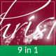 Holiday Particles - 9 in 1 Handwritten Greetings - VideoHive Item for Sale