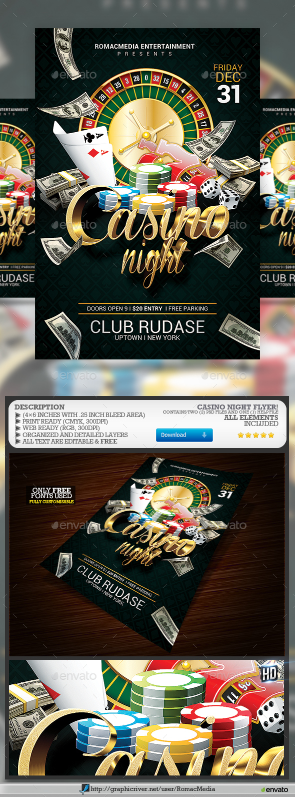 Casino Night - Clubs & Parties Events