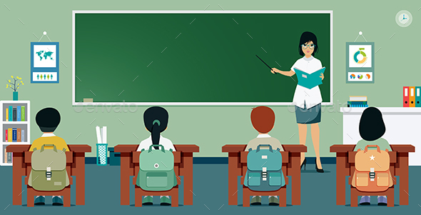 Classroom - People Characters