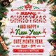 Christmas & Happy New Year Flyer / Poster - GraphicRiver Item for Sale
