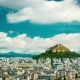 Cityscape of Athens and Lycabettus Hill - VideoHive Item for Sale