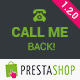 Call Me Back - PrestaShop Module - CodeCanyon Item for Sale