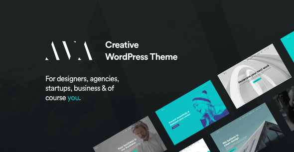 AVA | Modern Agency and Portfolio Theme - Portfolio Creative