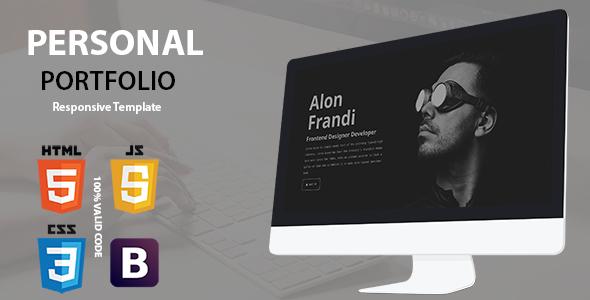 Personal – Responsive Portfolio Template