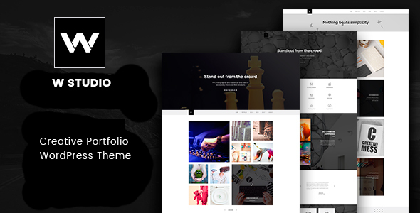 W Studio – Creative Portfolio WordPress Theme