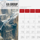 Desk Calendar 2017 v2 - GraphicRiver Item for Sale