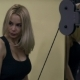 Blonde Girl Training at the Gym. Woman Engaged in Fitness - VideoHive Item for Sale