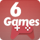 Best 6 Games Bundle-2 HTML5 Mobile Games - CodeCanyon Item for Sale