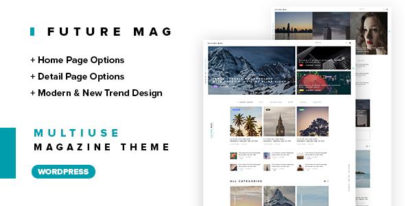 Future Magazine WordPress Theme
