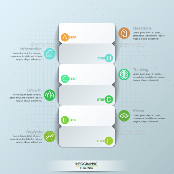 modern infographic paper timeline template by andrew kras graphicriver