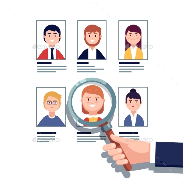 Employee Hiring Research Concept - Concepts Business