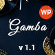 Gamba - Food & Restaurant WordPress Theme Nulled