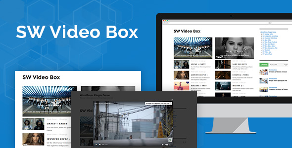 SW Video Box - Responsive WordPress Plugin - CodeCanyon Item for Sale