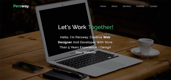 Persway – Responsive Personal Template