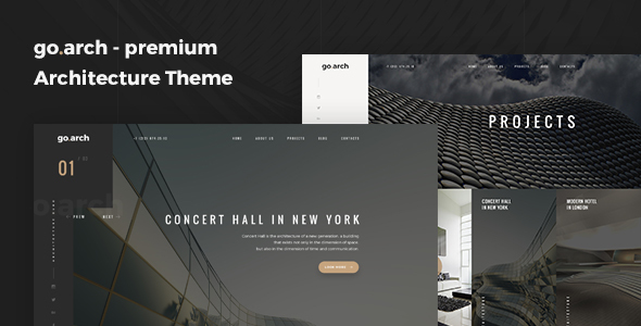 go.arch – Architecture & Interior WordPress Theme