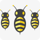 Clever Bees Logo - GraphicRiver Item for Sale